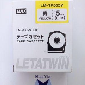 Băng nhãn in LM-TP505Y MAX
